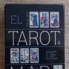 Barajas de cartas: BARAJA DE CARTAS EL TAROT DE MARSELLA. Lote 264706494