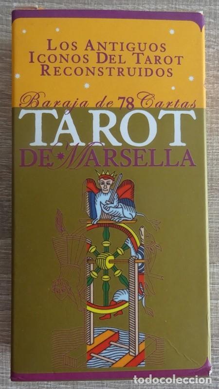 TAROT DE MARSELLA LOS ANTIGUOS ICONOS DEL TAROT RECONSTRUIDOS 78 CARTAS (Juguetes y Juegos - Cartas y Naipes - Barajas Tarot)