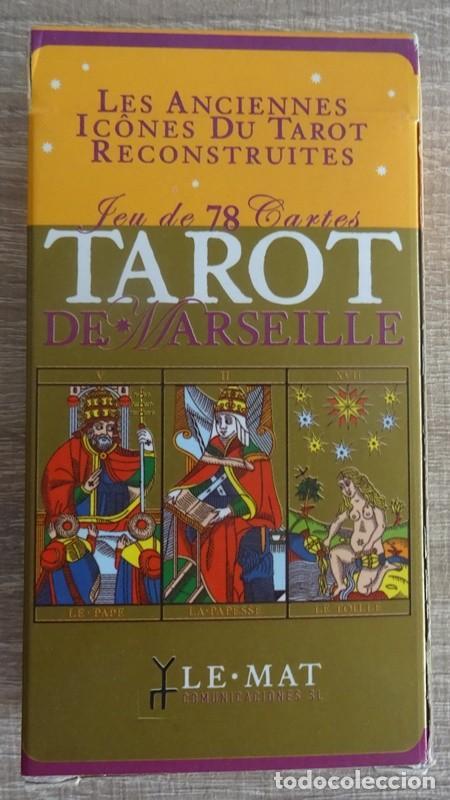 Barajas de cartas: TAROT DE MARSELLA LOS ANTIGUOS ICONOS DEL TAROT RECONSTRUIDOS 78 CARTAS - Foto 3 - 264707609