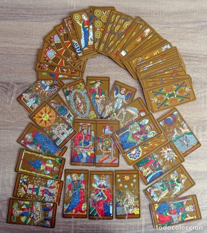 Barajas de cartas: TAROT DE MARSELLA LOS ANTIGUOS ICONOS DEL TAROT RECONSTRUIDOS 78 CARTAS - Foto 4 - 264707609
