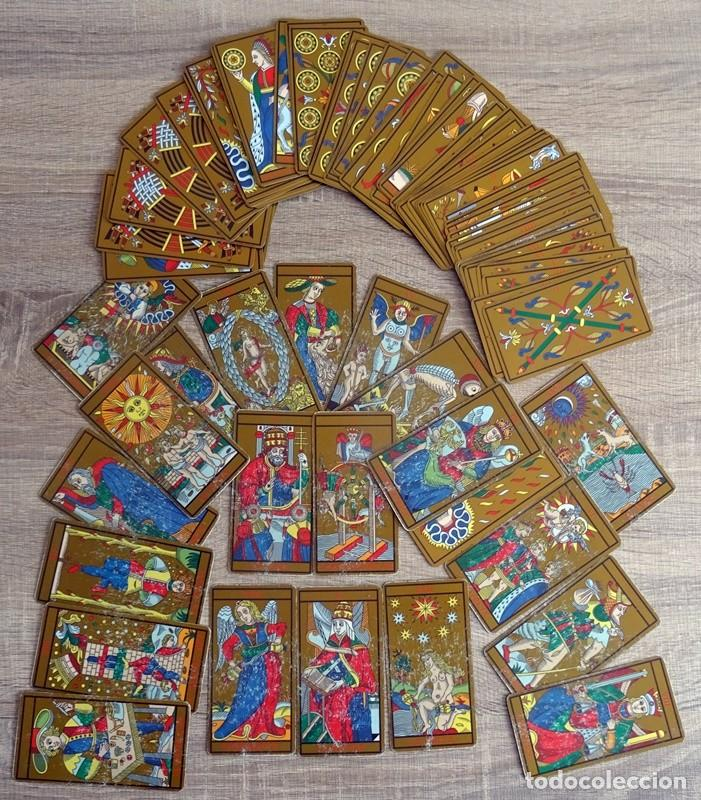 Barajas de cartas: TAROT DE MARSELLA LOS ANTIGUOS ICONOS DEL TAROT RECONSTRUIDOS 78 CARTAS - Foto 5 - 264707609