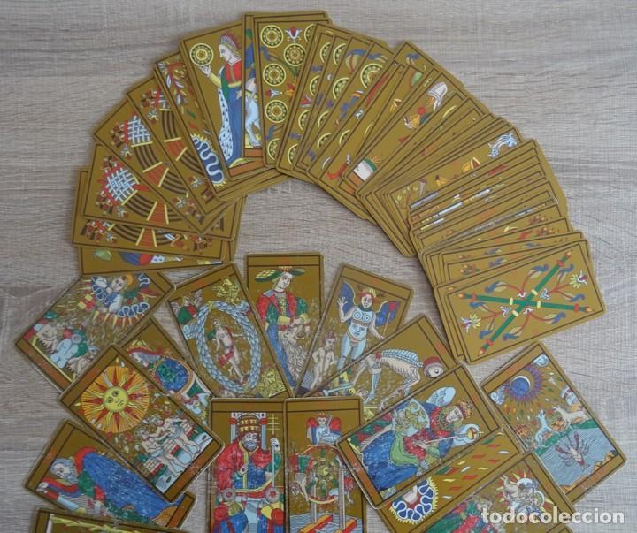 Barajas de cartas: TAROT DE MARSELLA LOS ANTIGUOS ICONOS DEL TAROT RECONSTRUIDOS 78 CARTAS - Foto 6 - 264707609