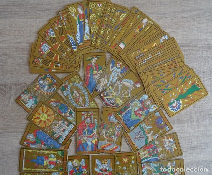 Barajas de cartas: TAROT DE MARSELLA LOS ANTIGUOS ICONOS DEL TAROT RECONSTRUIDOS 78 CARTAS - Foto 7 - 264707609