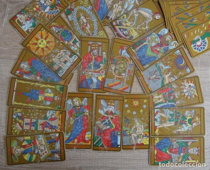 Barajas de cartas: TAROT DE MARSELLA LOS ANTIGUOS ICONOS DEL TAROT RECONSTRUIDOS 78 CARTAS - Foto 8 - 264707609