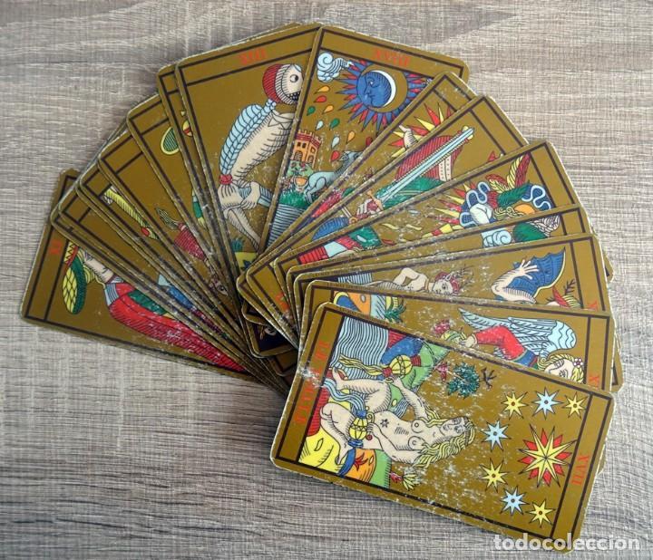 Barajas de cartas: TAROT DE MARSELLA LOS ANTIGUOS ICONOS DEL TAROT RECONSTRUIDOS 78 CARTAS - Foto 9 - 264707609