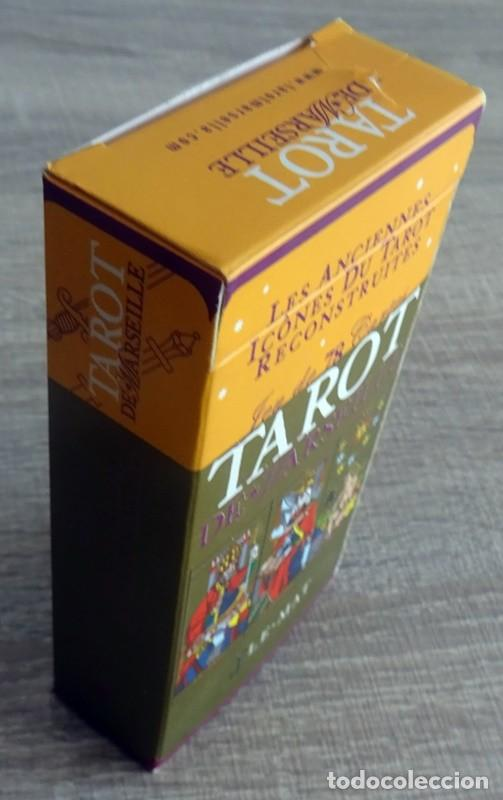 Barajas de cartas: TAROT DE MARSELLA LOS ANTIGUOS ICONOS DEL TAROT RECONSTRUIDOS 78 CARTAS - Foto 11 - 264707609