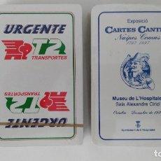 Jeux de cartes: 2 BARAJAS COMAS NUEVAS Y PRECINTADAS. Lote 264805294