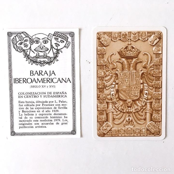 Barajas de cartas: BARAJA HERACLIO FOURNIER - IBEROAMERICANA - REEDICIÓN 1979 - Foto 3 - 265112704