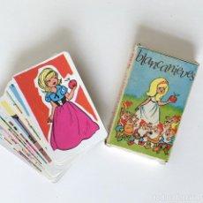 Barajas de cartas: BARAJA INFANTIL BLANCANIEVES - COMAS NAIPES - INCOMPLETA. Lote 265116524
