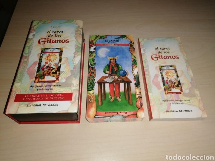 EL TAROT DE LOS GITANOS - I. DONELLI - EDITORIAL DE VECCHI (Juguetes y Juegos - Cartas y Naipes - Barajas Tarot)