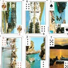 Barajas de cartas: BARAJA DE POKER TURISTICA DE MENORCA. Lote 265350379