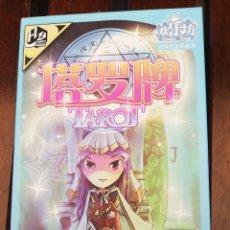 Barajas de cartas: TAROT JAPONÉS 78 NAIPES,INSTRUCCIONES Y CAJA ORIGINAL. Lote 265476304