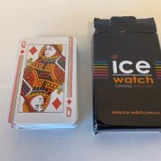Barajas de cartas: BARAJA DE CARTAS DE PÓKER PUBLICIDAD NUEVAS. Lote 266445888