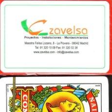 Barajas de cartas: ZAVELSA PROYECTOS - MADRID - BARAJA ESPAÑOLA 40 CARTAS. Lote 266490948