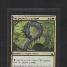 Barajas de cartas: MAGIC THE GATHERING : SIERPEPUTRIDA GOLGARI ( ZOMBIE ). Lote 266423203