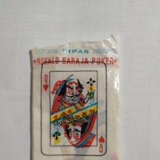 Jeux de cartes: TUESTE CHURRUCA BARAJA DE POKER 10 CARTAS EN SU SOBRE ORIGINAL AÑOS 60. Lote 266561688