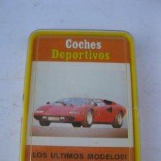 Mazzi di carte: BARAJA DE CARTAS - COCHES DEPORTIVOS - JUEGO DE FAMÍLIAS - HERACLIO FOURNIER - AÑO 1976 - NUEVA.. Lote 266682008