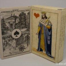 Barajas de cartas: LOTE BARAJAS DE CARTAS NAIPES PARA COLECCIONISMO 1850 - 1860. Lote 266716828