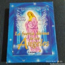 Baralhos de cartas: LA FUERZA DIVINA DE LOS ANGELES CAJA CON CARTAS Y LIBRO TAROT EDAF. Lote 267471449