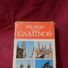 Barajas de cartas: CARTAS JUEGO DE LOS CAMINOS. COMPLETO. CEDA EL PASO. 42 CARTAS EDICIONES RECREATIVAS. MADRID. Lote 267564544