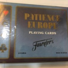 Jeux de cartes: BARAJA PATIENCE EUROPE. FOURNIER. PRECINTADA. Lote 267586344