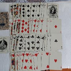 Mazzi di carte: T-967- BARAJA DE - POKER - SIMEON DURA ,FORTUNA, Nº-103 VALENCIA (SPAIN) TIM.EST. 1,80 PESETAS 52 NA. Lote 267649564