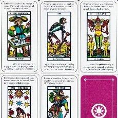 Barajas de cartas: TAROT DE LA REVISTA KARMA-7. Lote 268257449