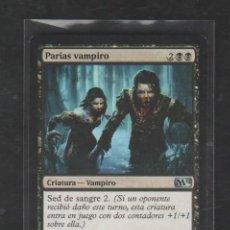 Barajas de cartas: MAGIC THE GATHERING : PARIAS VAMPIRO ( VAMPIRO ). Lote 267897534