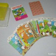 Barajas de cartas: BARAJA INFANTIL LAS MINIS DE HERACLIO FOURNIER LAS AVENTURAS DEL PATO DONALD, 1979. Lote 268834164