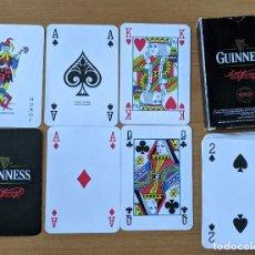 Barajas de cartas: BARAJA DE CARTAS PÓKER GUINNESS. Lote 268933209