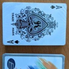 Barajas de cartas: BARAJA CARTAS PÓKER GRUPO E. A ESTRENAR. ESTUCHE RÍGIDO.. Lote 268935284