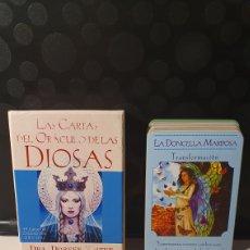 Barajas de cartas: LAS CARTAS DEL ORÁCULO DE LAS DIOSAS/ CARTAS + LIBRIO GUÍA / ( REF.CAJA-COFRA). Lote 268970369