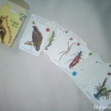 Barajas de cartas: EL JUEGO DE LA NATURALEZA; BARAJA COMPLETA PARA NIÑOS. Lote 269000834