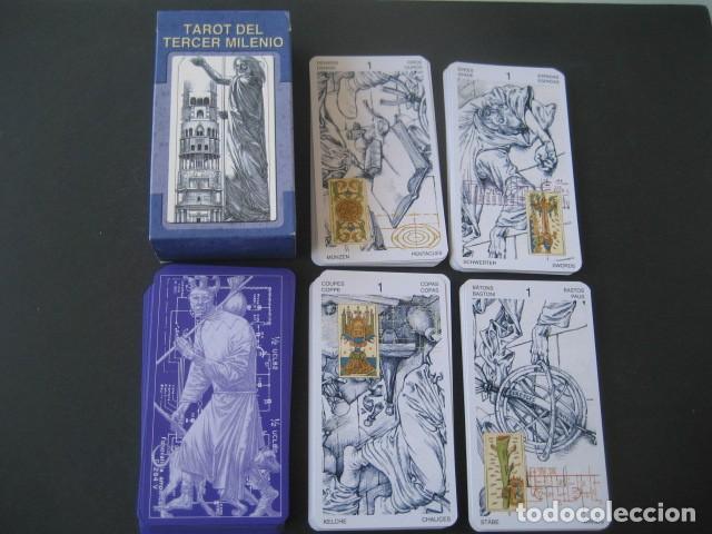 Barajas de cartas: TAROT DEL TERCER MILENIO - Foto 4 - 269005654