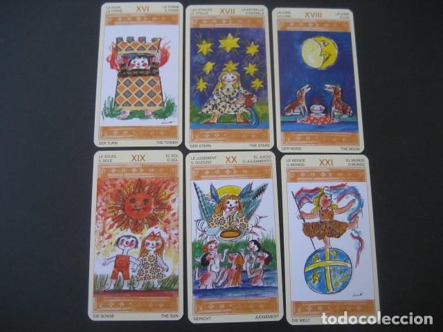 Barajas de cartas: TAROT DE LOS NIÑOS - Foto 7 - 269005809