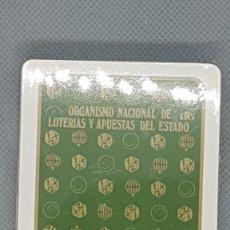Barajas de cartas: NAIPES COMAS LOTERIA NACIONAL RARA. Lote 269188808