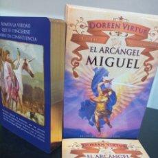 Barajas de cartas: EL ARCÁNGEL MIGUEL.CARTAS ADIVINATORIAS. DOREEN VIRTUE.. Lote 269211063