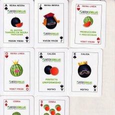 Barajas de cartas: BARAJA ESPAÑOLA DE LAS SANDIAS. Lote 269294753