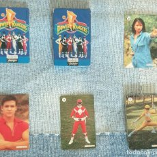 Barajas de cartas: BARAJA CARTAS - POWER RANGERS - FOURNIER - 1995. Lote 269474743