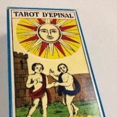 Barajas de cartas: TAROT THE EPINAL. 78 CARTAS, COMPLETO. CON FOLLETO EN INGLES Y FRANCES. AÑO 1979. Lote 269594488