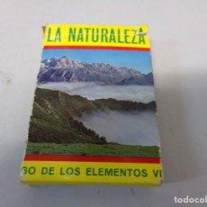 Barajas de cartas: BARAJA DE CARTAS HERACLIO FOURNIER LA NATURALEZA - VITORIA. Lote 269716748
