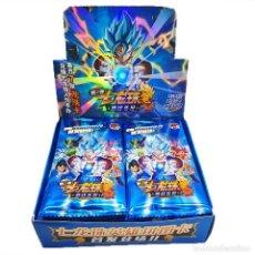 Jeux de cartes: PACK LOTE TARJETAS DRAGON BALL Z 15 SOBRES Y ALBUM. Lote 269757093