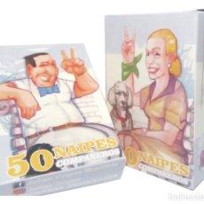 Jeux de cartes: BARAJA DE NAIPES PERONISTAS CHAVISTAS KIRCHNERISTAS LULA EVO ETC NAIPES ESPAÑOLES NUEVA SIN USO. Lote 269759893