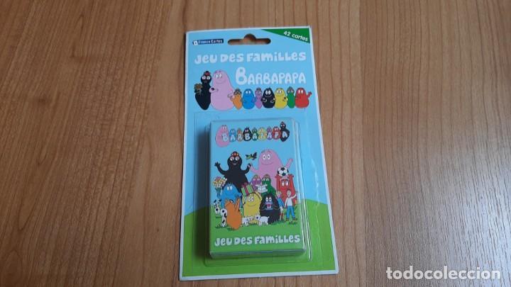 BARBAPAPA -- JEU DES FAMILLES -- FRANCE CARTES, 2010 -- COMPLETO (Juguetes y Juegos - Cartas y Naipes - Barajas Infantiles)