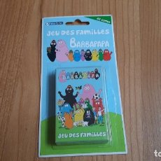 Barajas de cartas: BARBAPAPA -- JEU DES FAMILLES -- FRANCE CARTES, 2010 -- COMPLETO. Lote 173578669