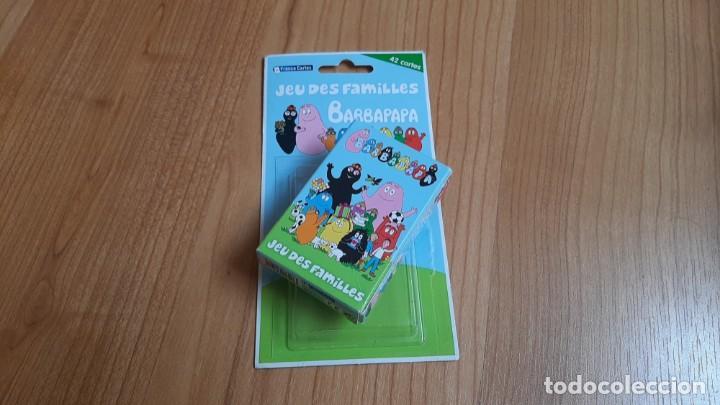 Barajas de cartas: Barbapapa -- Jeu des Familles -- France Cartes, 2010 -- Completo - Foto 2 - 173578669