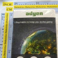 Barajas de cartas: BARAJA DE CARTAS DE PÓKER. ADYEN PAYMENT TO KEEP YOU IN THE GAME. PRECINTADA. 90GR. Lote 269949858