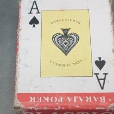 Barajas de cartas: NAIPE POKER ANTIGUA USADA. Lote 269972513