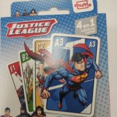 Barajas de cartas: BARAJA JUSTICE LEAGUE DC. Lote 270104973