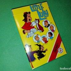 Barajas de cartas: LITTLE LULU JUEGO INFANTIL BARAJA NAIPES FOURNIER 1984 NUEVA. Lote 270121243